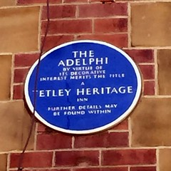 Photo of The Adelphi, Leeds blue plaque