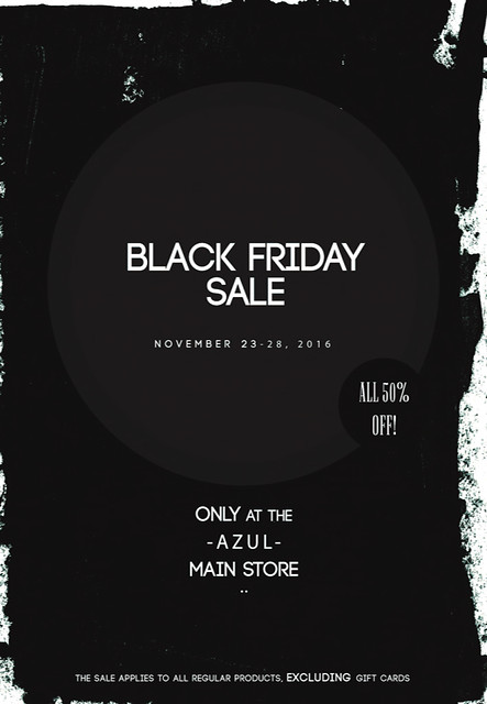 AZUL Black Friday Sale 2016