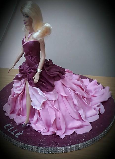 Barbie Cake by Anita Engelbrecht