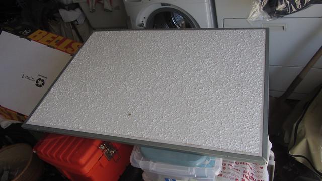 IMG_1437 attic scuttlehole drywall cover w metal edges