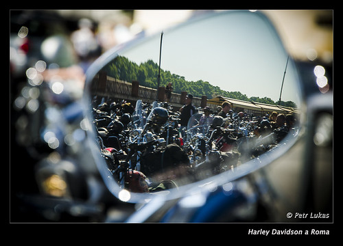 Harley Davidson a Roma