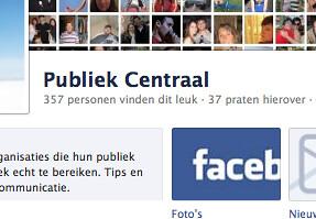 Facebook Publiek Centraal praten hierover