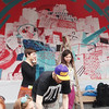 painting at the Localize Festival, Potsdam 2013 by xxcrew