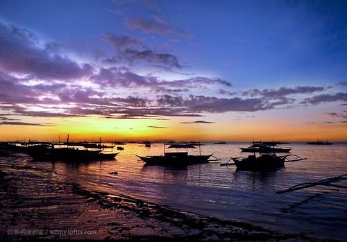 日落 菲律宾 薄荷岛