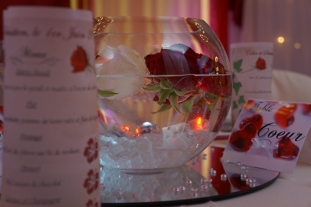 Decoration Tables Mariage Rouge