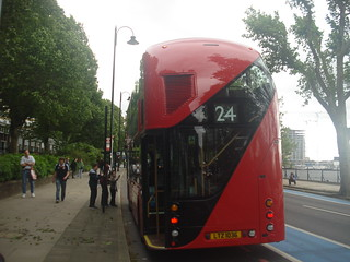 Metroline LT36 on Route 24, Pimlico