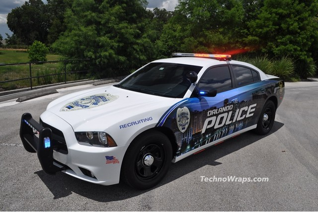 Police Car Graphics Wrap By Technosigns In Orlando Florida Flickr Photo Sharing