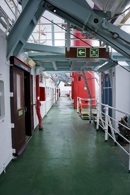 Taking the Androssen ferry to Brodick on Arran, Scotland