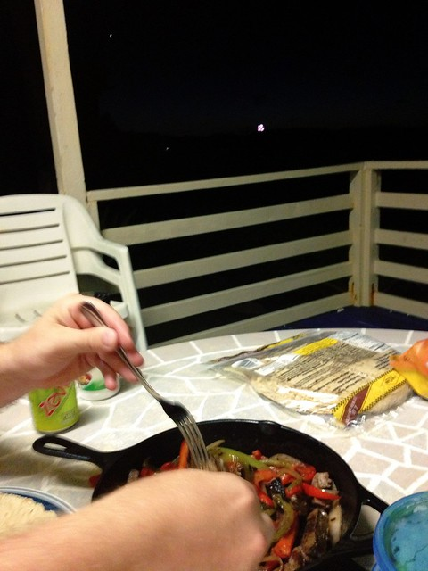 Fajita Dinner Plus Fireworks