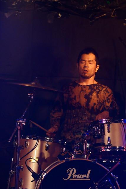 SPUTNIK KOMBINAT live at Outbreak, Tokyo, 15 Jul 2013. 131