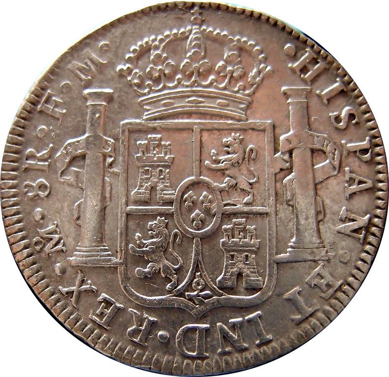 8 reales 1792 FM Carlos IIII. Mexico 9363717493_6215a916a5_c