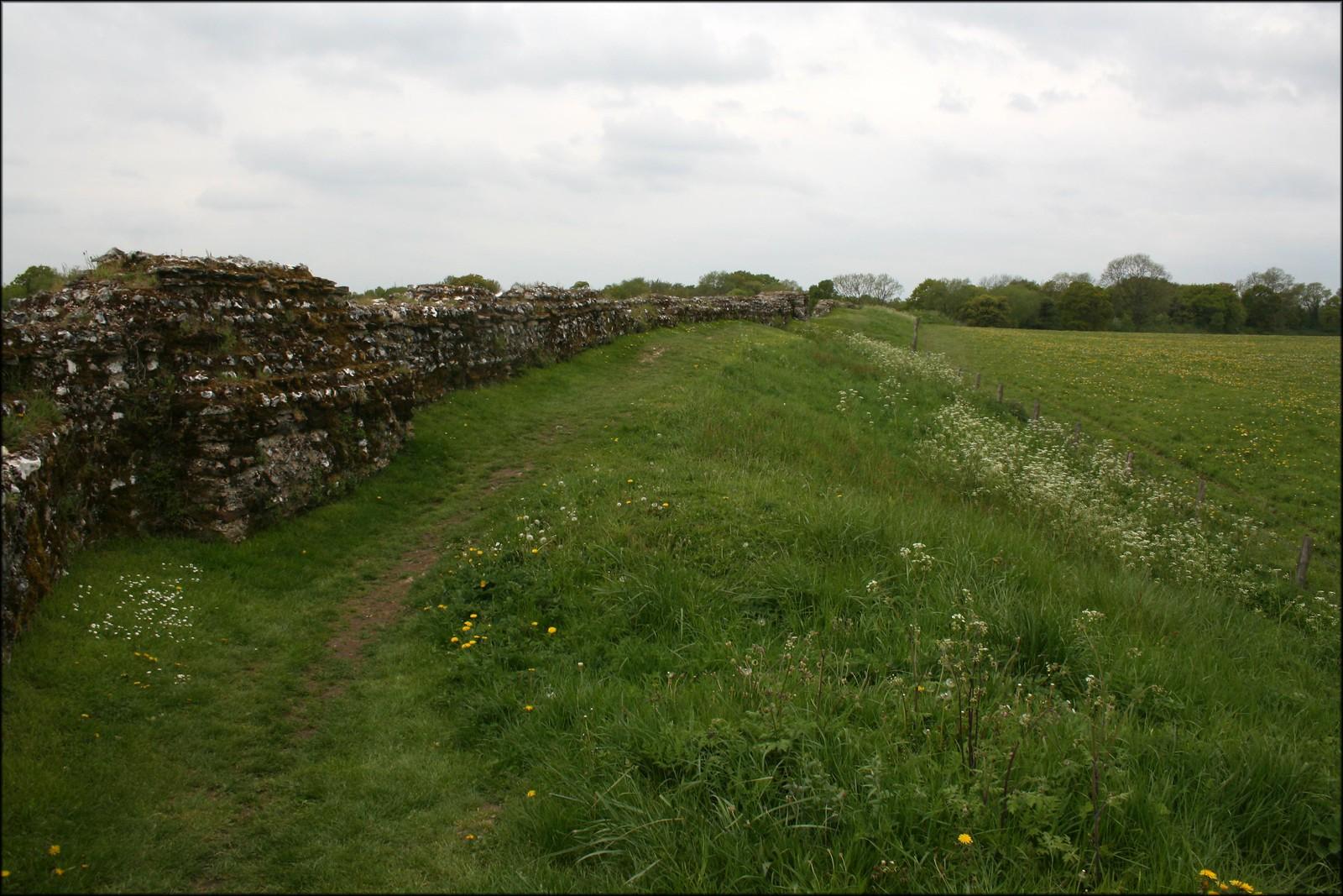 Old Roman Wall at Calleva Atrebatvm