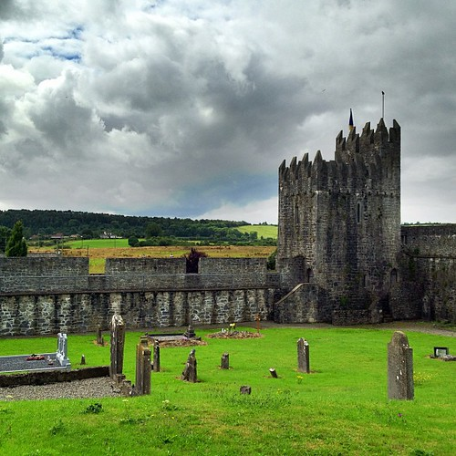 The medieval walls of Fethard, Co Tipperary