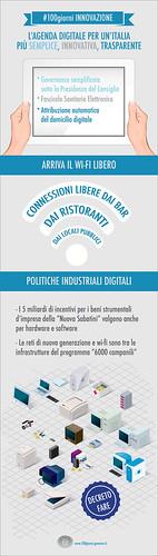 100 giorni, Italia digitale