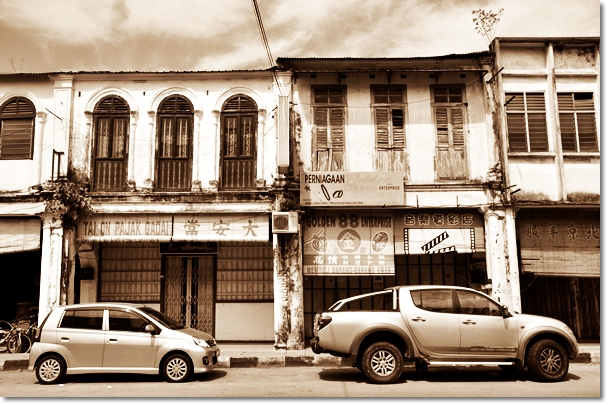 Old Shops along Menglembu