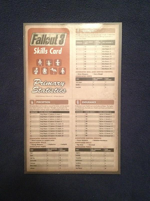 Fallout 3 skills guide
