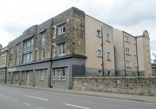 Former Co-operative Building, Leven, Fife from East