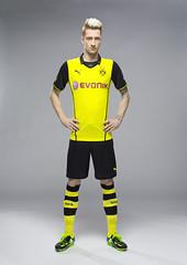 Marco Reus: Borussia Dortmund (BVB) Champions League-Trikot (Saison 2013-2014) von Puma