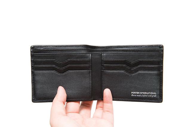 Porter 新皮夾入手 (BEND 系列款黑色) @3C 達人廖阿輝