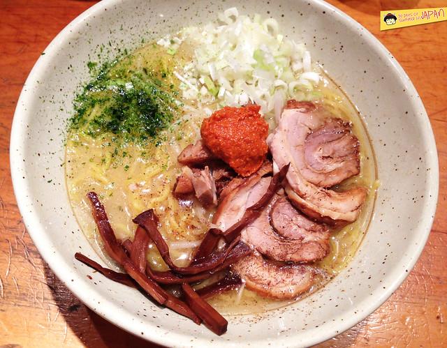 Tsujida in Awajicho つじ田 - one of Tokyo's best miso ramen spicy bowl