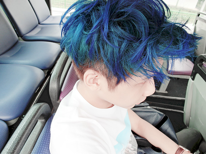 typicalben blue hair 1