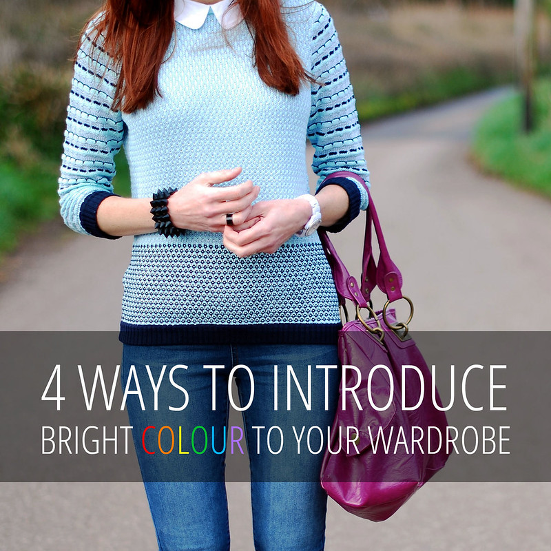 How To Introduce Colour Into Your Wardrobe