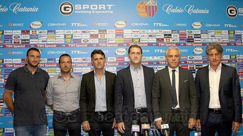 Calcio, Catania: Presentato il nuovo assetto del settore giovanile$