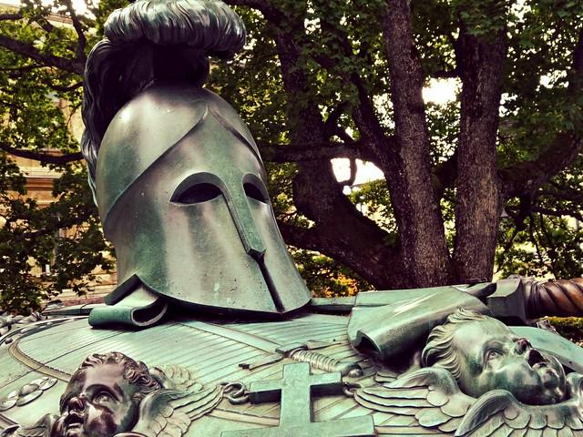 Augustin Ehrensvärd's memorial, Suomenlinna