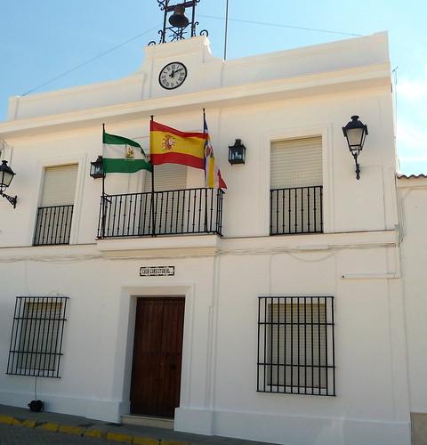 Huelva - San Silvestre de Guzmán - Ayuntamiento 37 23' 18.12 -7 20' 53.60