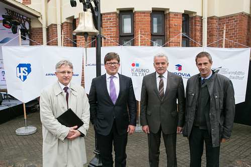 Opening of Rail Baltica works in Marijampole (Lithuania)