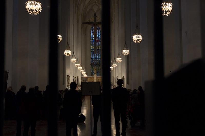Inside Frauenkirche - Munich, Germany