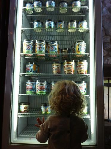 I want an ice-cream.