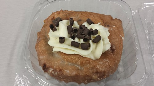 Pumpkin Chocolate donut