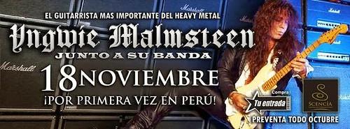 Yngwie Malmsteen en Lima - C.C. Scencia