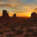 "Monument Valley Sunrise by IronRodArt - Royce Bair (""Star Shooter"")"