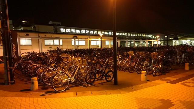 Bikes at Aomori