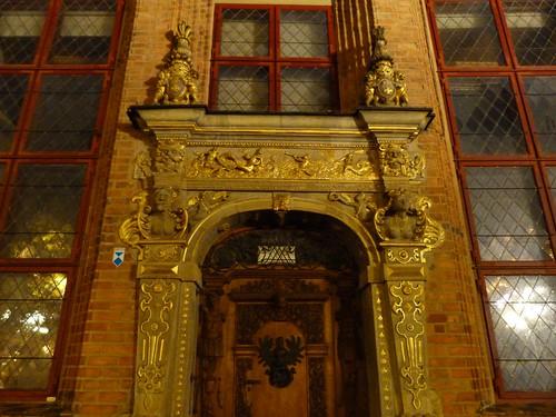 Una de las puertas más bellas de Gdansk
