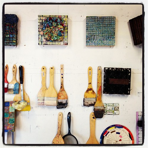 Went to Deena Margolis' studio today. Had a great meeting with her and  two other artists. Looking forward to our next!