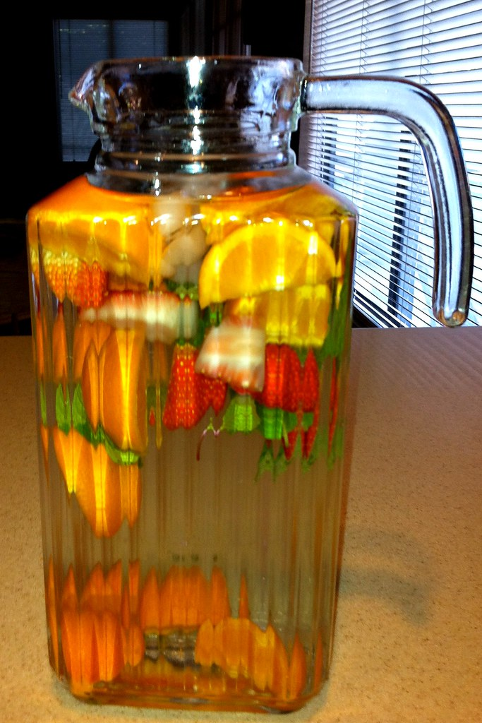 Infused Water - Square Pitcher