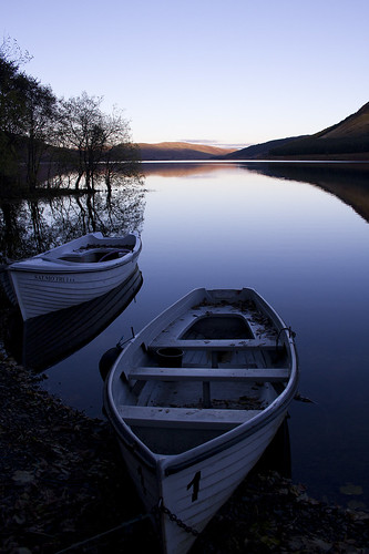 St Marys Loch boats by Conyip