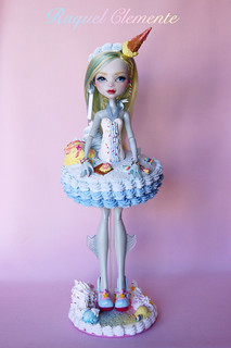 """Commission Monster high Lagoona Blue """"Sweet Collection"""""""