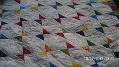Hand Dyed Quilt 1