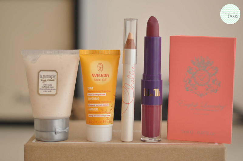 birchbox november 2013 beauty box rottenotter rotten otter blog 2