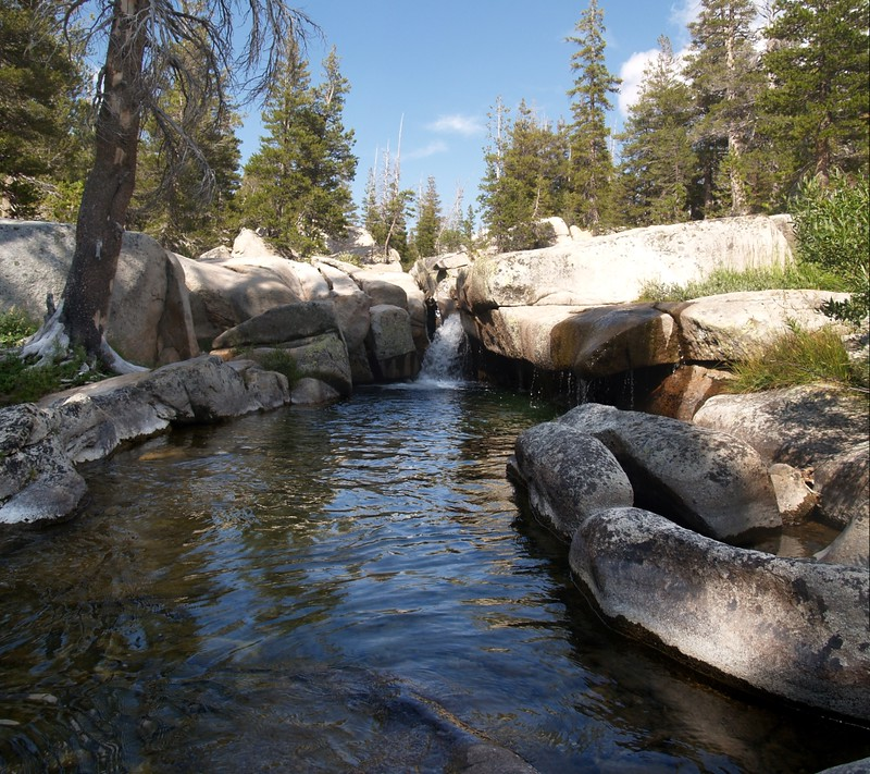 Return Creek in Virginia Canyon near the PCT Crossing