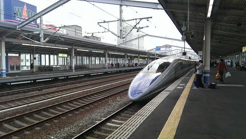 500系新幹線こだま