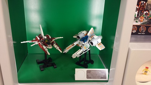 Vic Vipers at the LEGO store