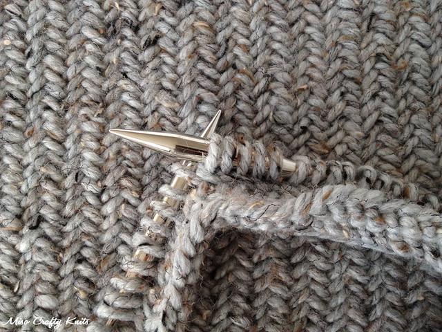 Miso Crafty Knits Knit In Progress The Katniss Cowl