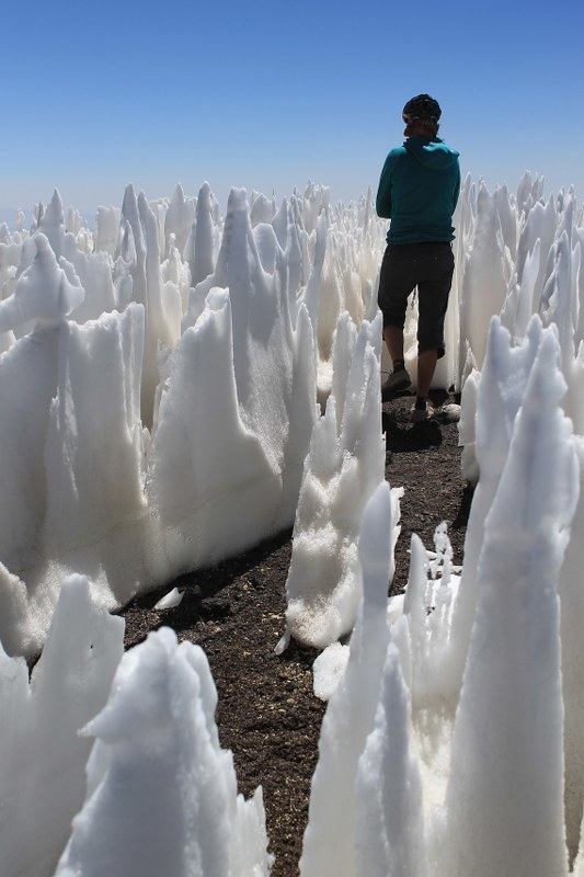 In the penitentes