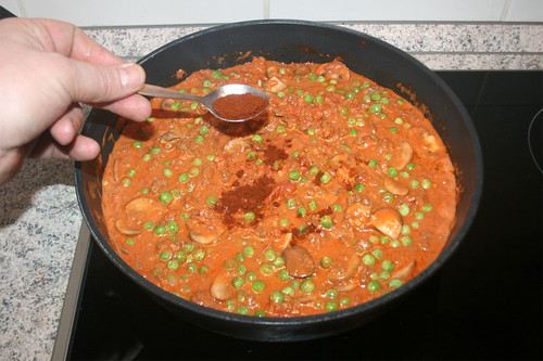 32 - Cayennepfeffer hinzugeben / Add cayenne pepper