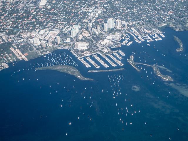 a Miami marina